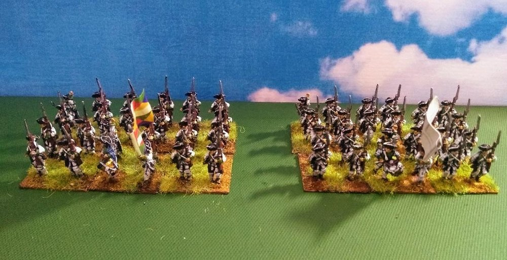 French AWI infantry from Mr Helliwell