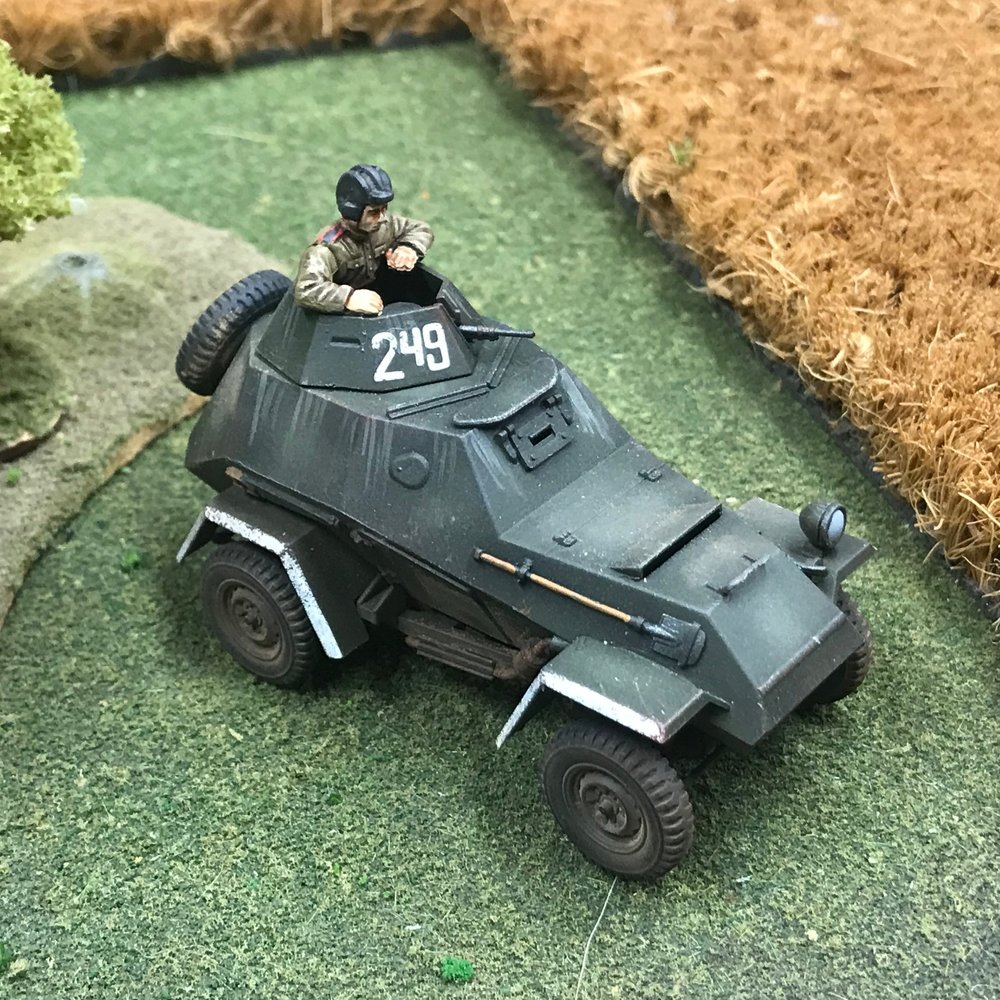 Gorgeous WW2 Soviet Armoured Car from Travis