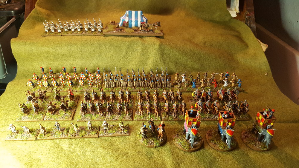 A proper sized army from Sapper:  the Ghaznavids