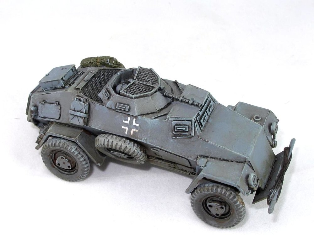 28mm SdKfz 221 from Andy Duffell