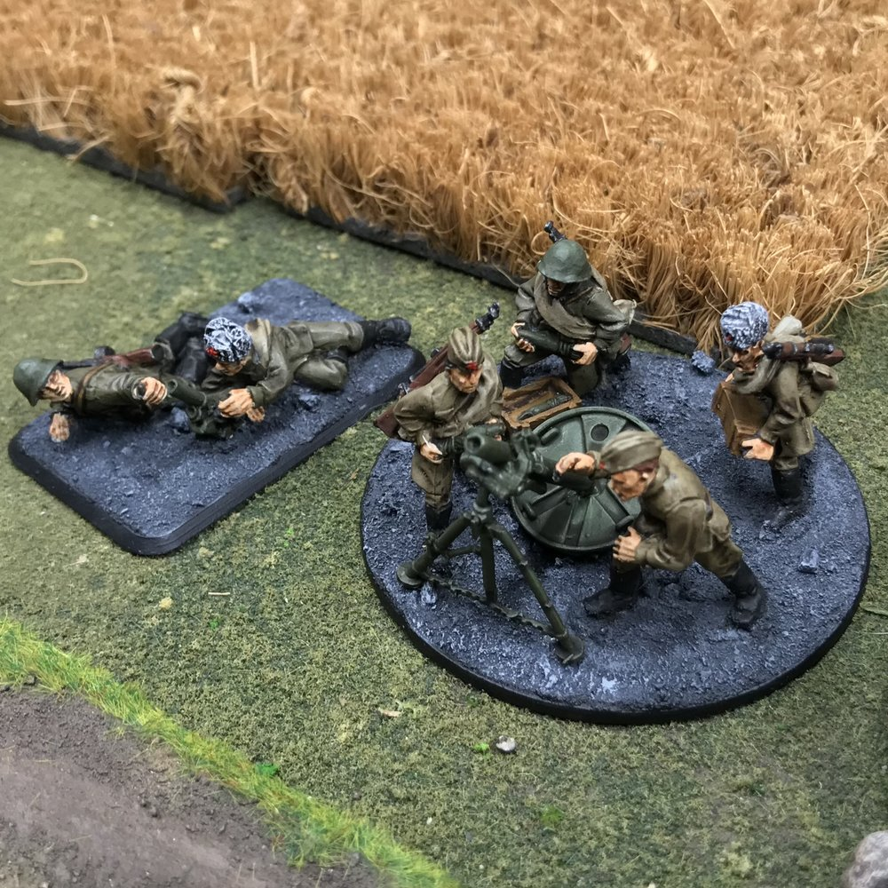 Soviet mortar team from Travis