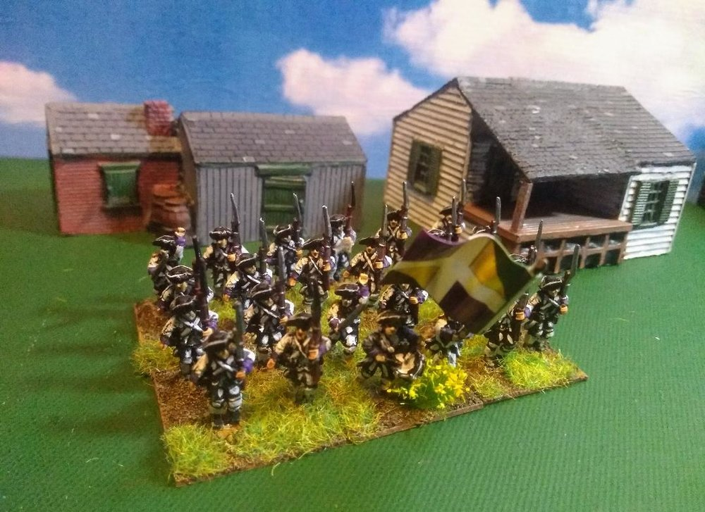 AWI French infantry in 15mm from Andrew Helliwell