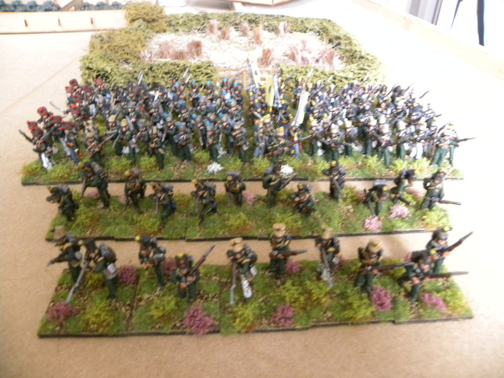 Stumpy's latest basing: a quick 119 figures!