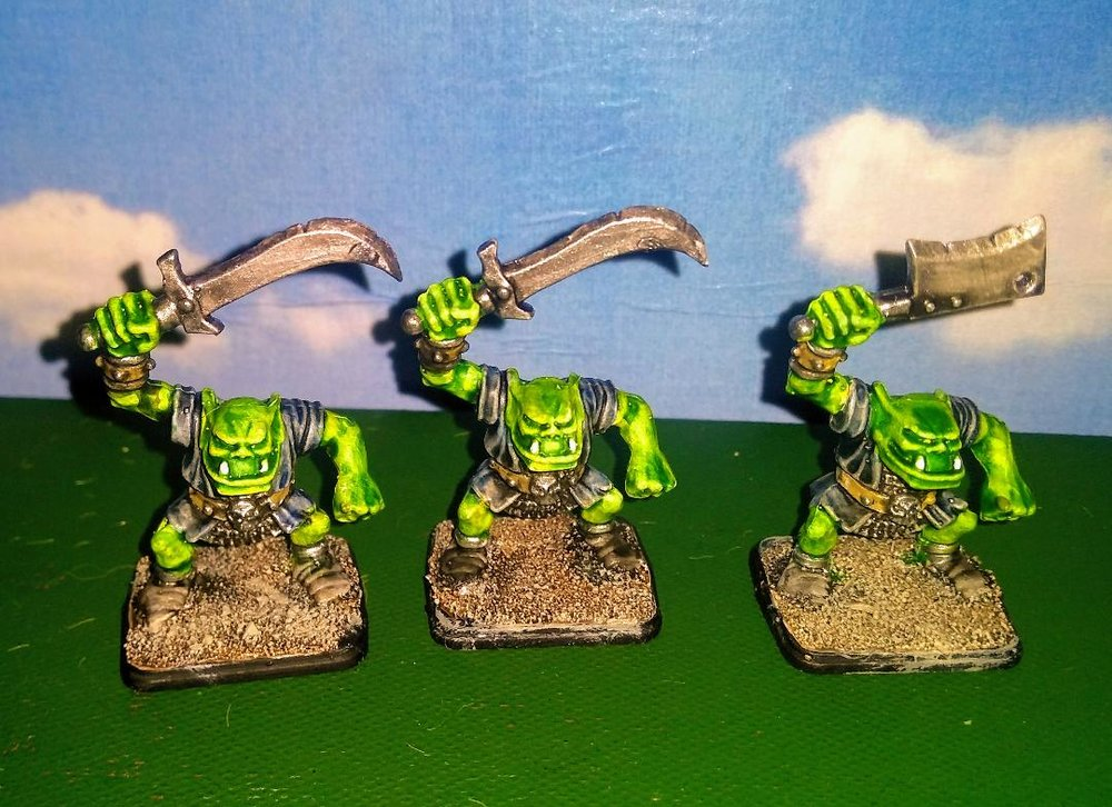 Mr Helliwell's Orcs (loving the highlighting)