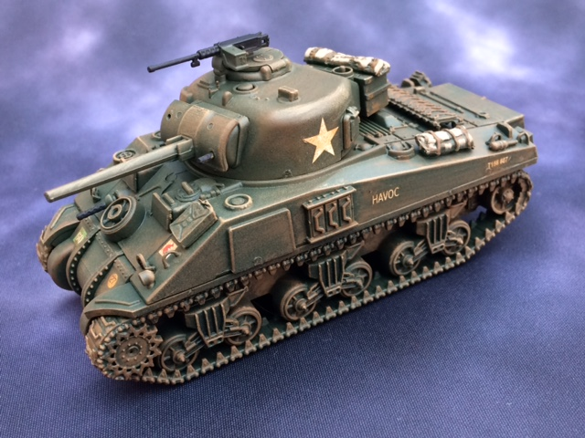A Sherman tank from Matt Slade