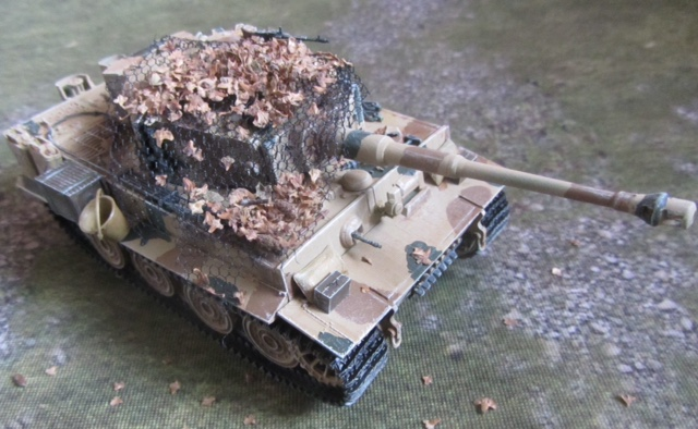 A 28mm Tiger I from Mervyn
