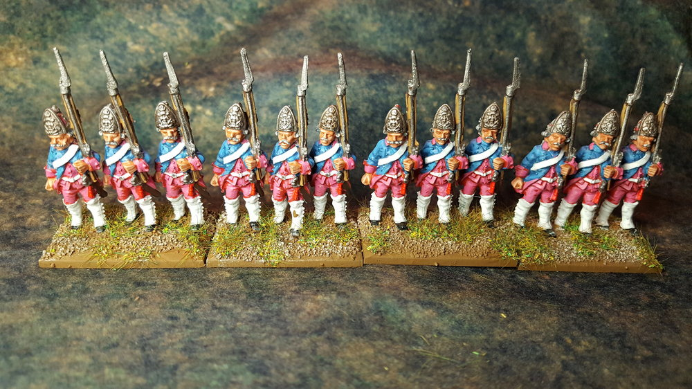 Prussian SYW Fusiliers from Sapper