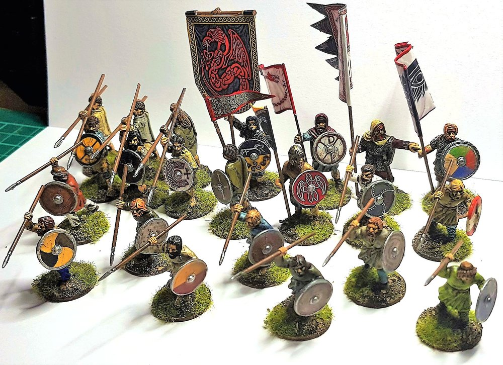 Dark Ages Infantry from Jason Ralls