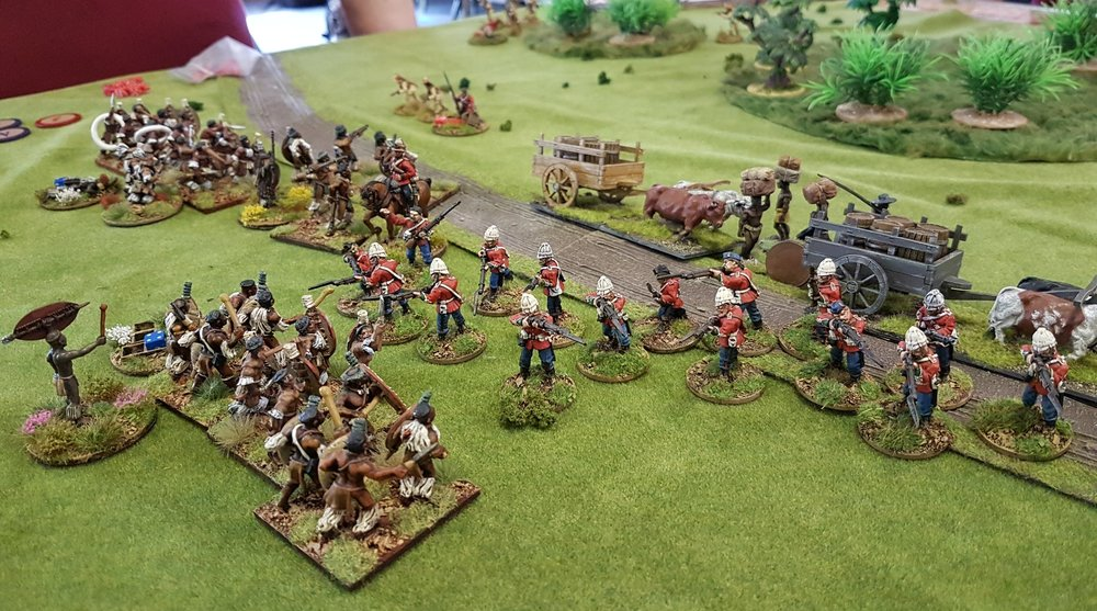 SHARP PRACTICE 2 ADAPTED FOR THE ZULU WARS (OML6, jUNE 2018)