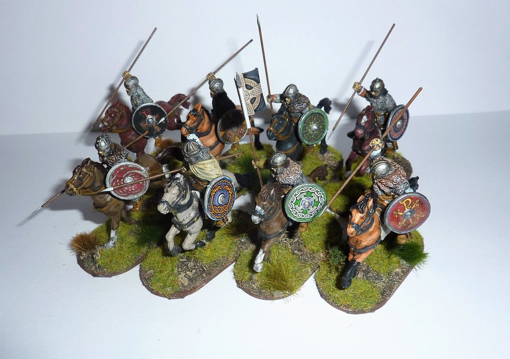 Dark Ages Cavalry from Jason Ralls
