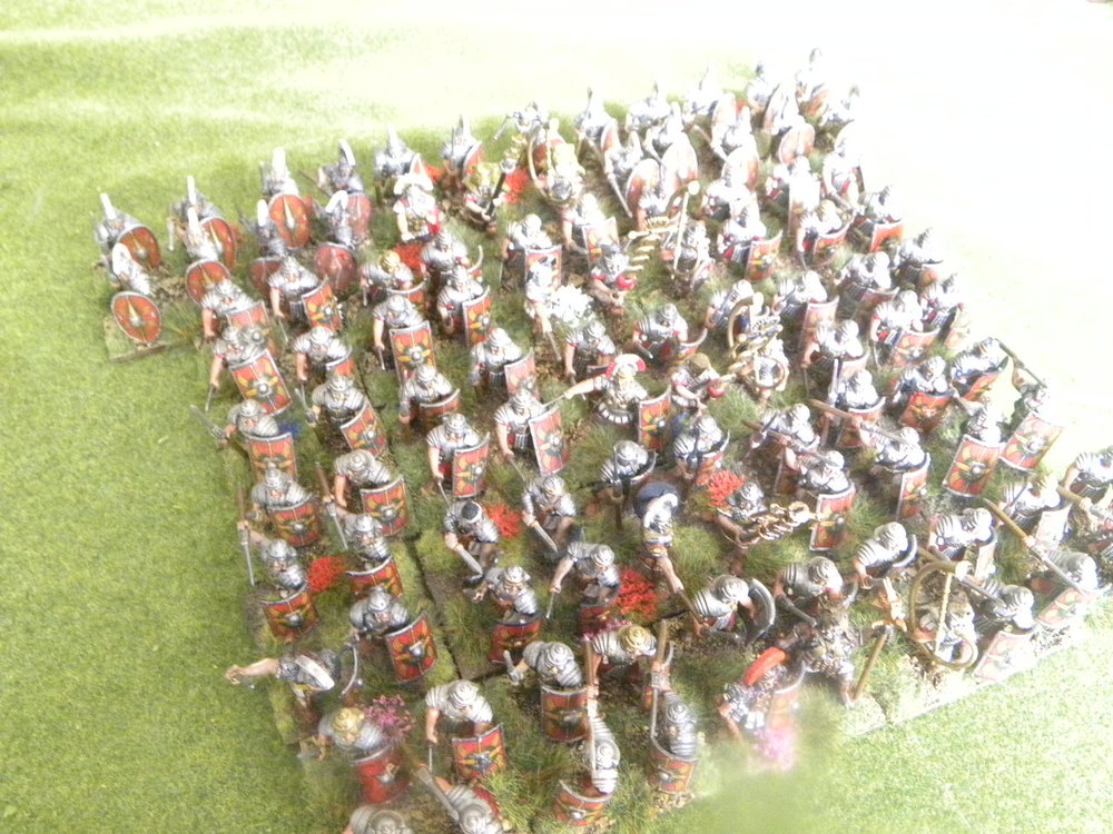 Re-Based Romans from Stumpy