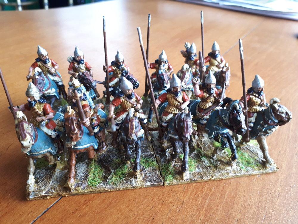 Assyrian Cavalry from Steve Burt