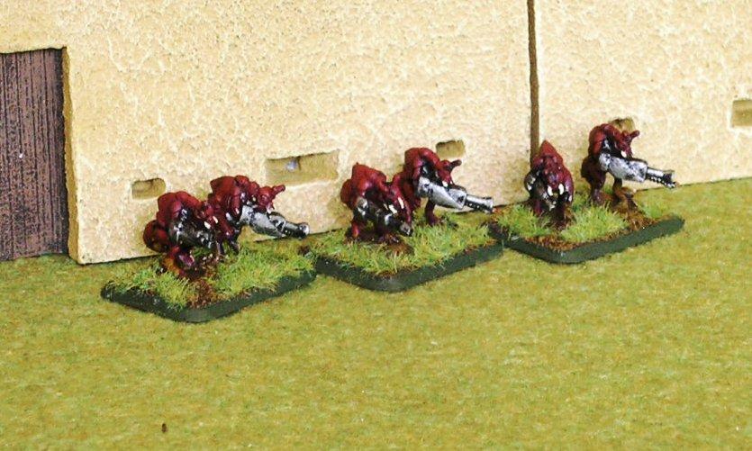 Adult Bug Flamethrower Teams