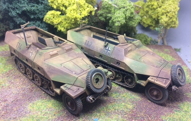Rather a nice camo job from Vlad, with Matt Slade doing the weathering