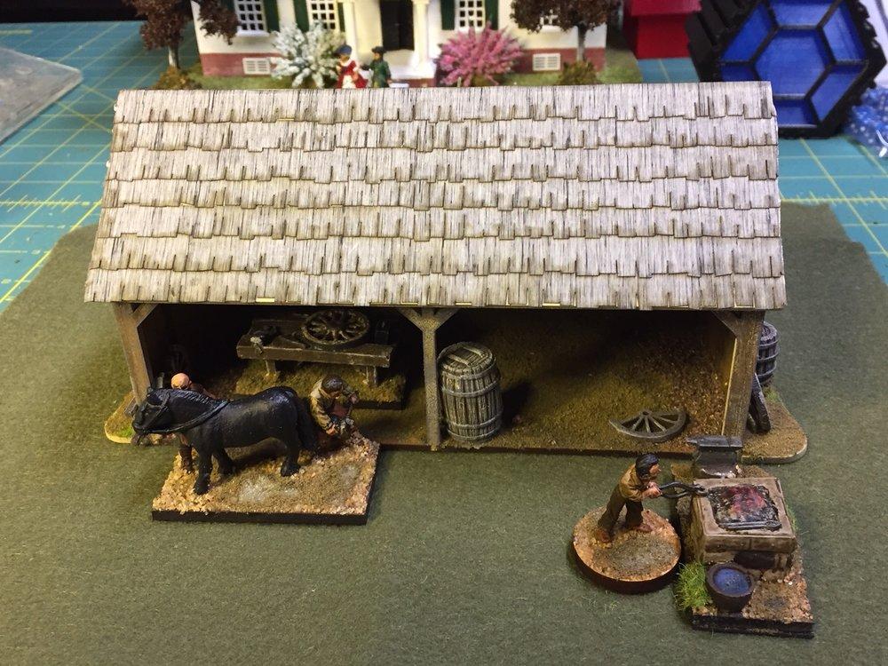 Charlie Foxtrot's blacksmith's from Ed Bowen