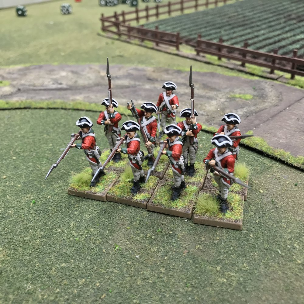 Redcoats from Travis