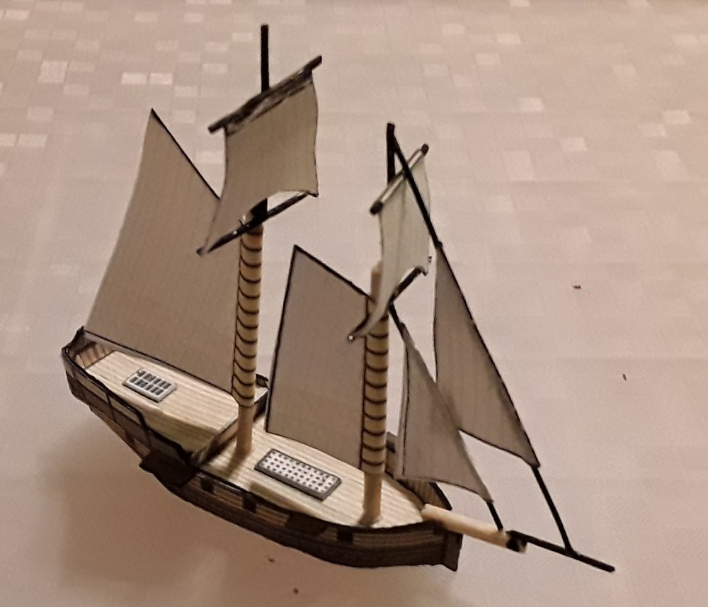 One of Chris Stoesen's ships