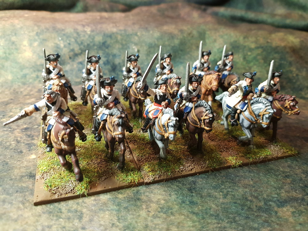 SYW Prussian Cuirassiers from Sapper