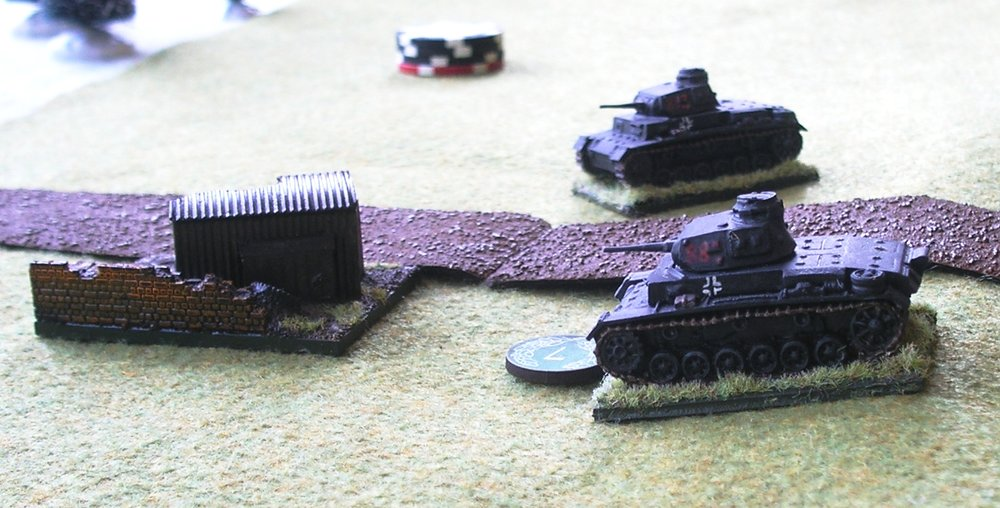 German tanks take the third objective, but the Poles have two anti-tank guns pointed their way...