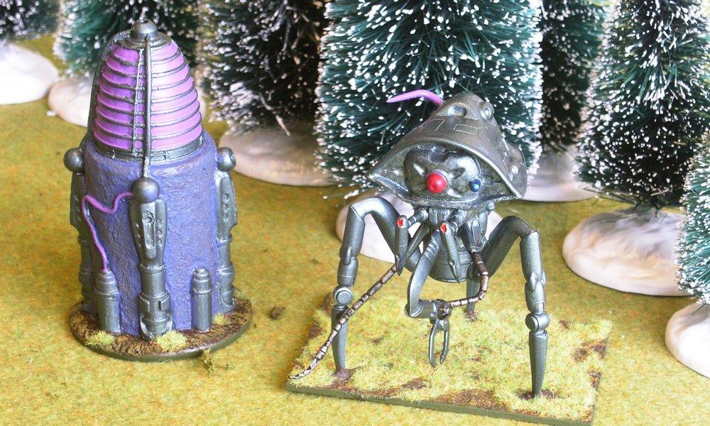 Martian Slaver & Power Node