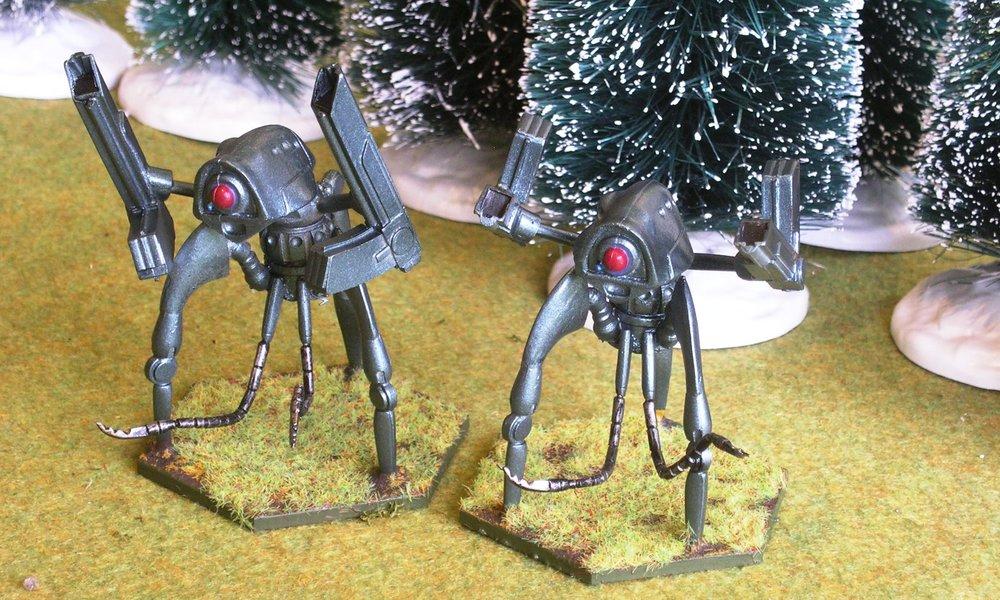 Grenadier Tripods