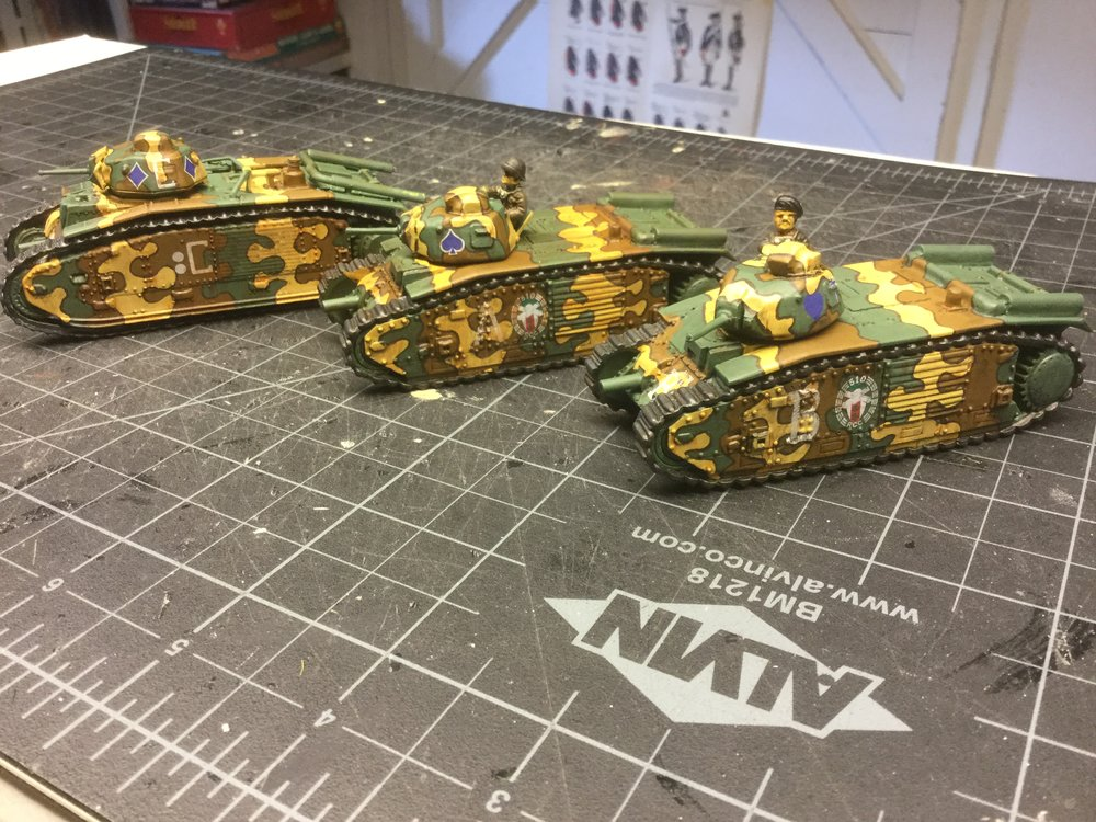 Char B-1's from the Hat