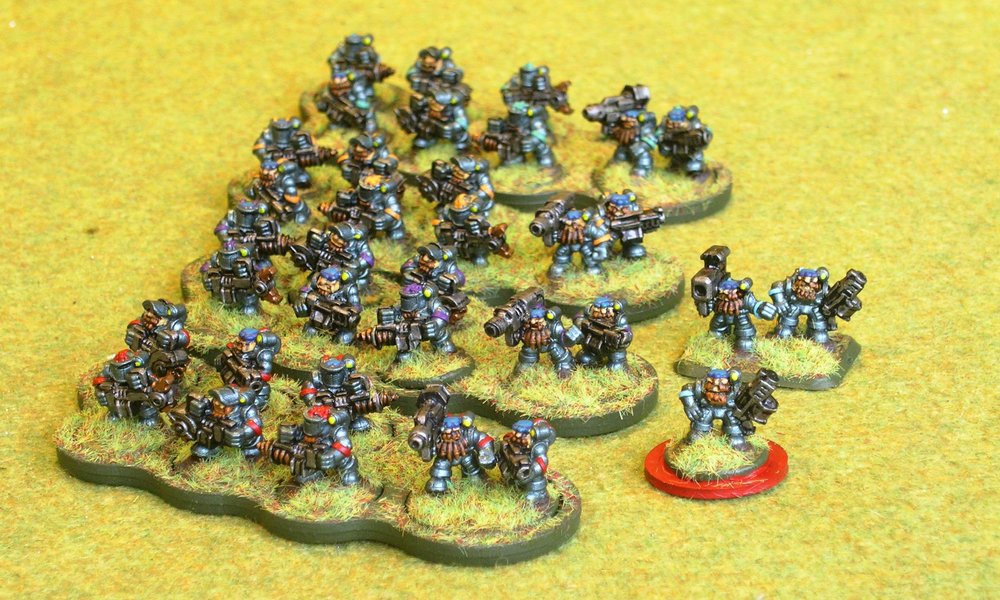 1st (Grudd Engineer) Infantry Platoon