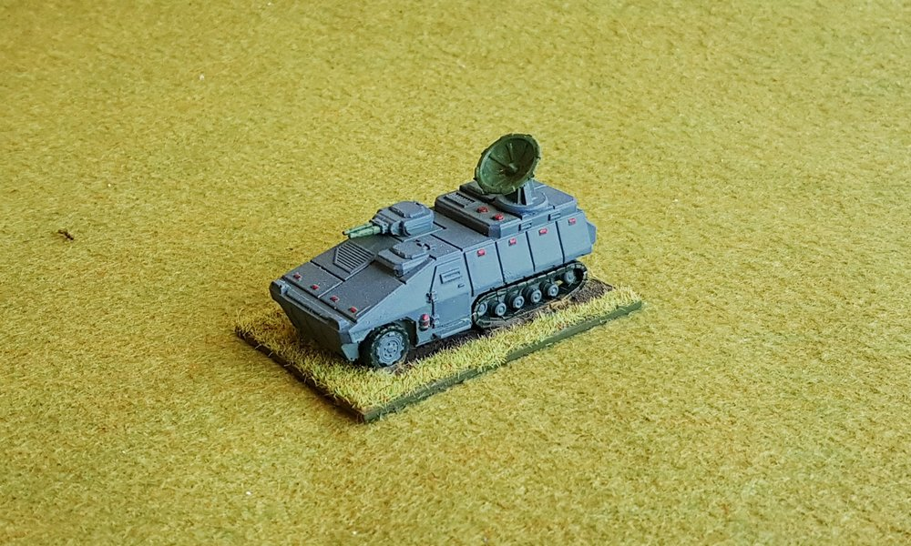 Suwalska 'Hetman' command vehicle (includes MOST SENIOR BIG MAN AND Electronic Warfare Specialist)