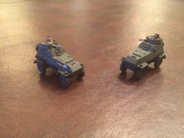 David Scott's BA-64 Armoured Cars