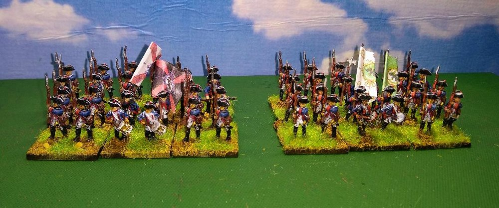 Two 7YW Prussian Battalions from Andrew Helliwell