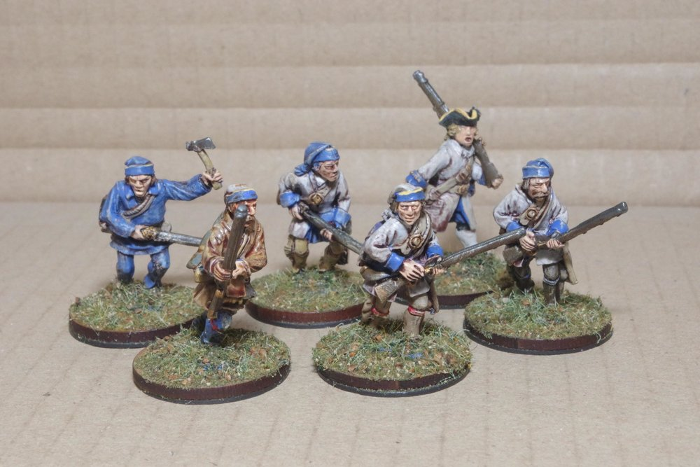 Compagnies Franches de la Marine skirmishers from Carole