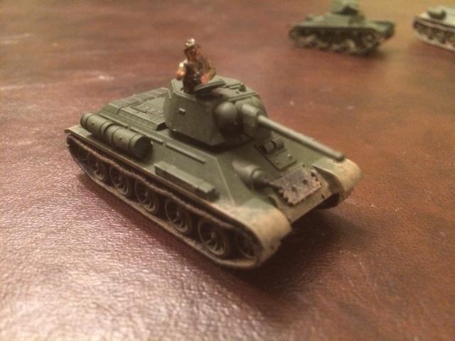 A T-34 from David Scott