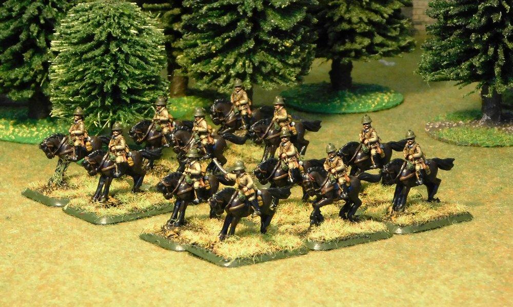 One Cavalry Squad
