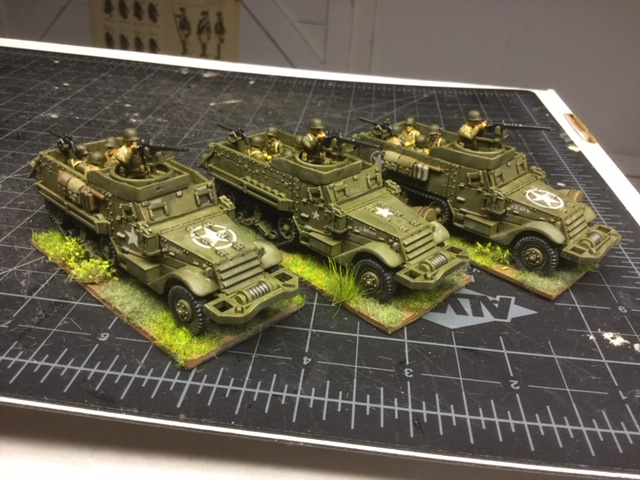 Lloyd's WW2 US Half-Tracks
