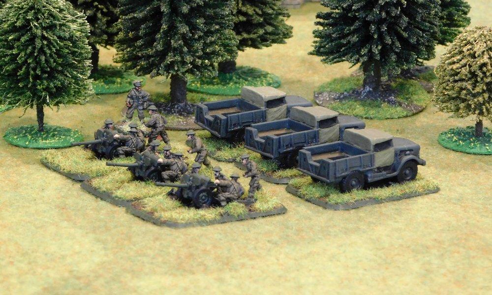 Anti-Tank Platoon (25mm guns)
