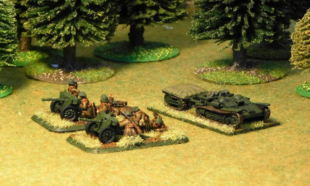 Heavy weapons Platoon (remnants)