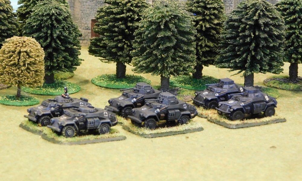 Light Armoured Car Platoon (Option 2)