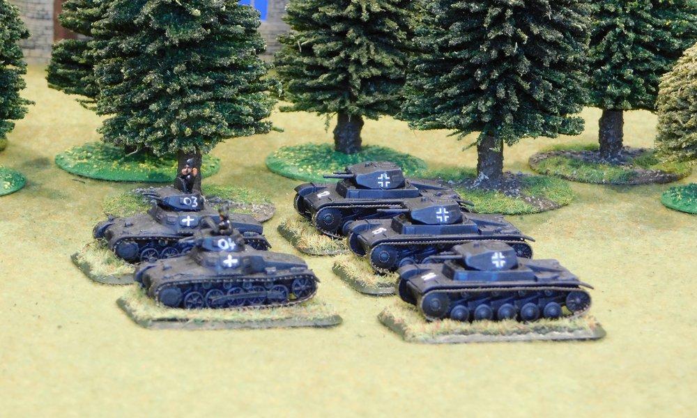 3rd (light Panzer) Platoon