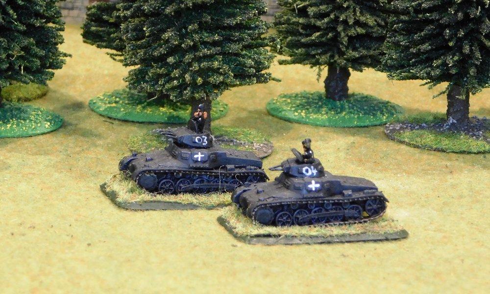 2nd (Trucked Panzer) Platoon (remnants)