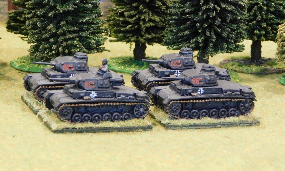 1st (Panzer III) Platoon