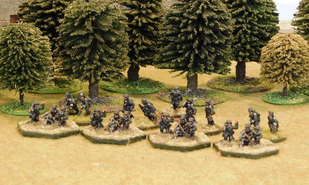 motorised Machine Gun Platoon (no transport)