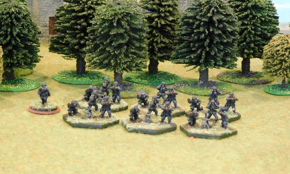 Armoured Mortar Platoon (no transport)