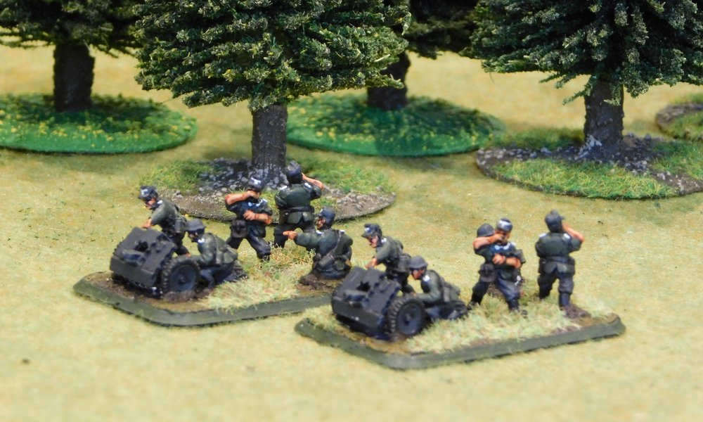 motorised Infantry Gun Platoon (no transport)