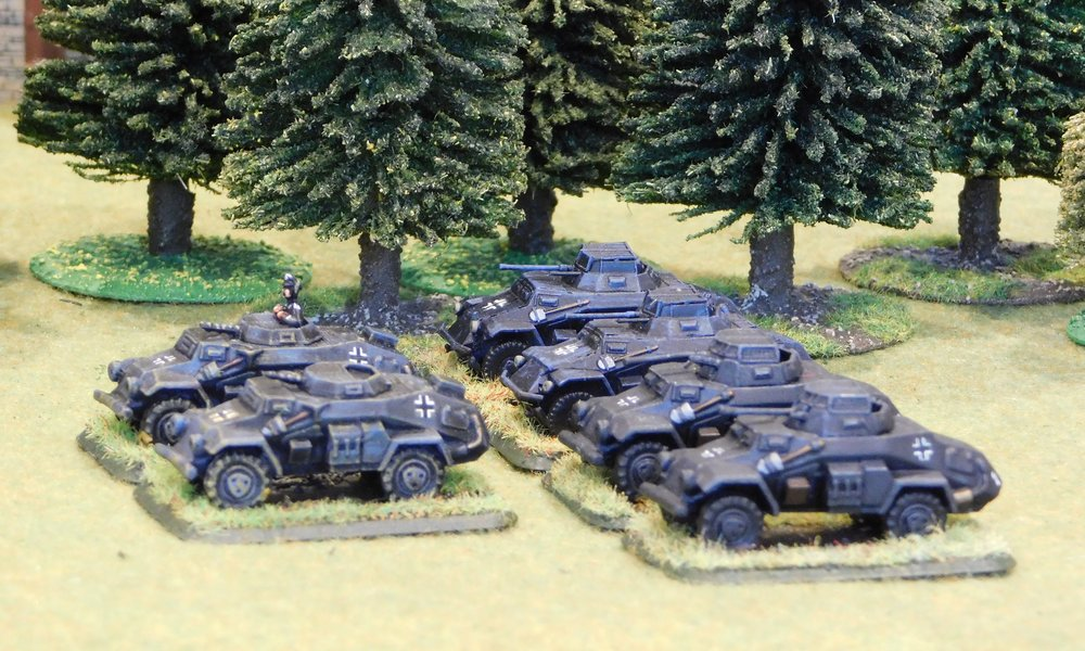 Mixed Armoured Car Platoon (remnants)