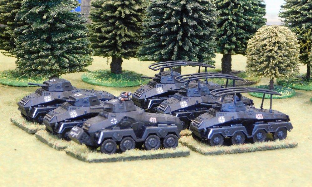 Heavy Armoured car Platoon