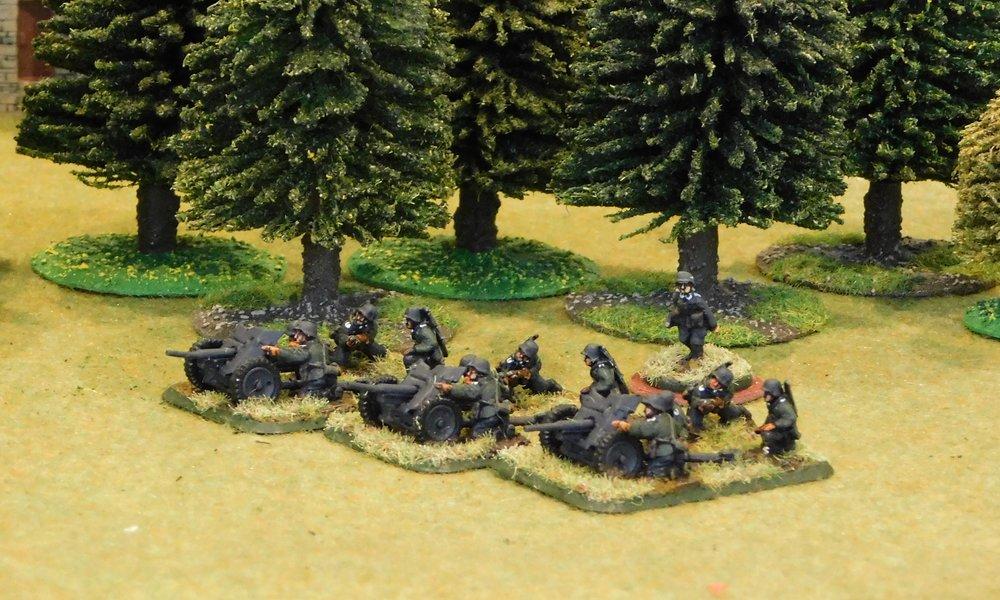 Anti-Tank Gun Platoon (no transport)