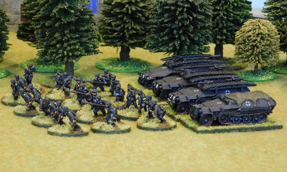 Armoured Infantry Pioneer Platoon (no transport)