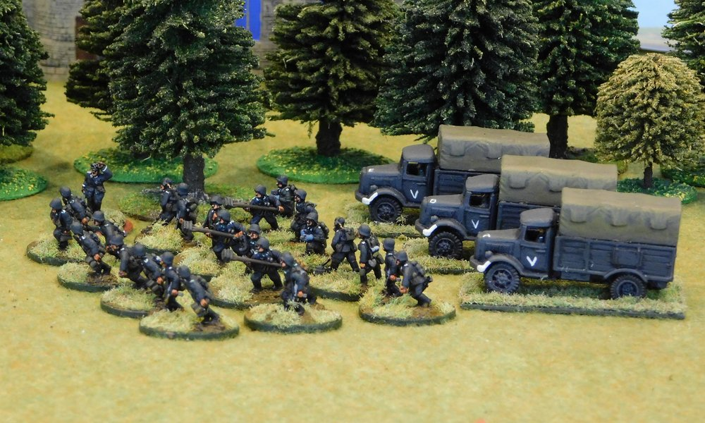 motorised Infantry Pioneer Platoon