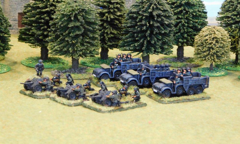 motorised Anti-Tank Platoon