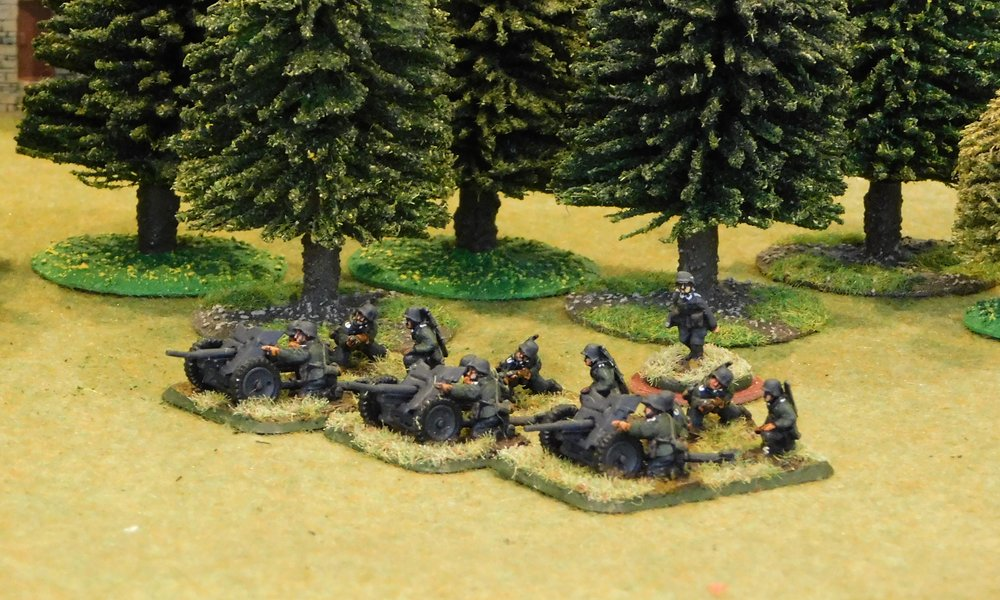 Panzerjaeger Platoon (no transport)